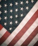 Imagem denominada retro da bandeira dos EUA Imagem de Stock Royalty Free