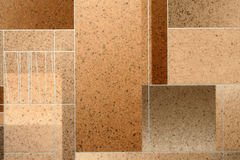 Imagem detalhada de um linóleo Imagem de Stock