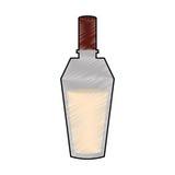 Imagem do ícone da garrafa de perfume Imagens de Stock
