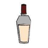 Imagem do ícone da garrafa de perfume Foto de Stock Royalty Free
