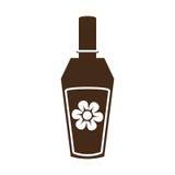 Imagem do ícone da garrafa de perfume Fotografia de Stock Royalty Free