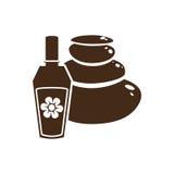 Imagem do ícone da garrafa de perfume Imagem de Stock Royalty Free