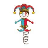 Imagem do ícone de Jack in the Box Fotografia de Stock Royalty Free