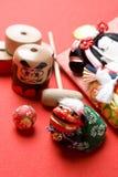 Imagem do ano novo japonês Fotos de Stock Royalty Free