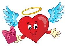 Imagem 8 do assunto do coração do Valentim Imagens de Stock