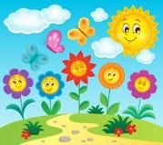 Imagem 3 do assunto da flor Fotografia de Stock Royalty Free