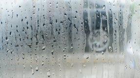 Imagem do borrão da chuva para o fundo Foto de Stock