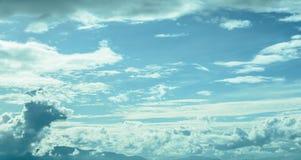Imagem do borrão do céu para o fundo Foto de Stock Royalty Free