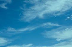 Imagem do borrão do céu para o fundo Imagem de Stock Royalty Free