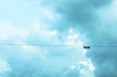 Imagem do borrão do céu para o fundo Fotografia de Stock Royalty Free