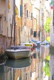 Imagem do canal em Veneza Foto de Stock Royalty Free