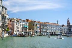 Imagem do canal em Veneza Fotografia de Stock Royalty Free