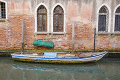 Imagem do canal em Veneza Imagens de Stock