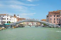 Imagem do canal em Veneza Imagem de Stock Royalty Free