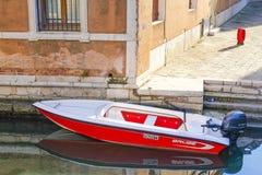 Imagem do canal em Veneza Imagens de Stock Royalty Free