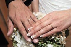Imagem do casamento Imagem de Stock Royalty Free