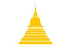 Imagem do cenário e da Buda Imagem de Stock
