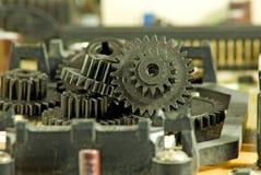 Imagem do close up da roda denteada Foto de Stock Royalty Free
