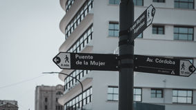 Imagem do close up de um sinal de rua Foto de Stock