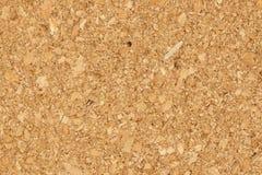 Imagem do close-up do fundo de madeira da textura da placa da cortiça foto de stock royalty free