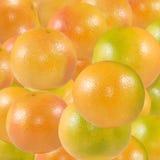 Imagem do close-up maduro delicioso de muitas laranjas imagens de stock