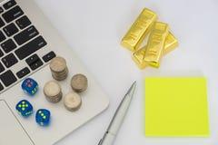 Imagem do conceito do investimento Foto de Stock