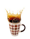 Imagem do copo do café quente Foto de Stock Royalty Free