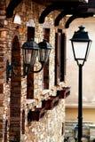 Imagem do detalhe da cidade velha em Greece Fotos de Stock Royalty Free