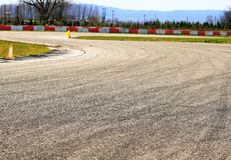 Imagem do detalhe do estrada Foto de Stock