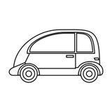 imagem do eco do veículo do automóvel ilustração do vetor