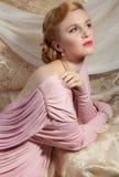 imagem do estilo de Pinup dos anos 40 Foto de Stock Royalty Free