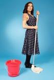 imagem do estilo do Pin-Acima dos anos 50 Fotografia de Stock Royalty Free