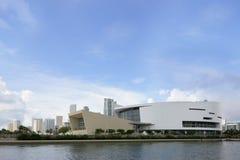 Imagem do estoque de Miami da arena de American Airlines Fotografia de Stock