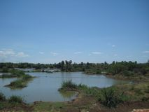 A imagem do Foz bonito faz Iguaçu em Brasil fotografia de stock