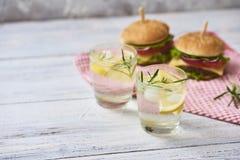 Imagem do hamburguer saboroso fresco imagens de stock royalty free