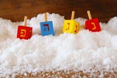 Imagem do Hanukkah judaico do feriado fotos de stock royalty free