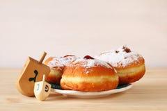 Imagem do Hanukkah judaico do feriado foto de stock
