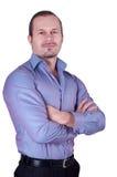 Imagem do homem bem sucedido Imagem de Stock Royalty Free