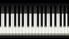 Imagem do piano 01 Imagens de Stock Royalty Free