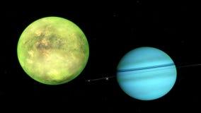 Imagem do planeta fantástico Foto de Stock
