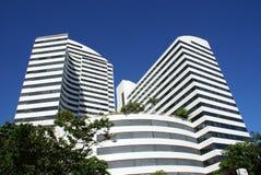 Imagem do prédio de escritórios moderno fotografia de stock