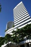 Imagem do prédio de escritórios moderno imagens de stock