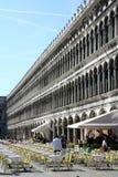 Imagem do restaurante do ar livre em San Marco Italy Imagem de Stock