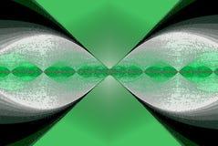 Imagem do sumário da divisão do vírus no verde indo ilustração stock