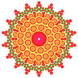 A imagem do sumário do vetor de uma flor Imagem de Stock Royalty Free
