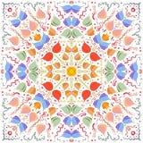 A imagem do sumário do vetor de uma flor Fotos de Stock Royalty Free