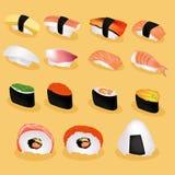 Imagem do sushi de Japão Imagens de Stock Royalty Free