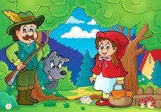 Imagem 2 do tema do conto de fadas Imagens de Stock Royalty Free
