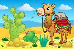 Imagem 1 do tema do deserto Imagens de Stock Royalty Free