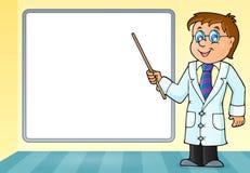 Imagem 5 do tema do doutor Imagem de Stock